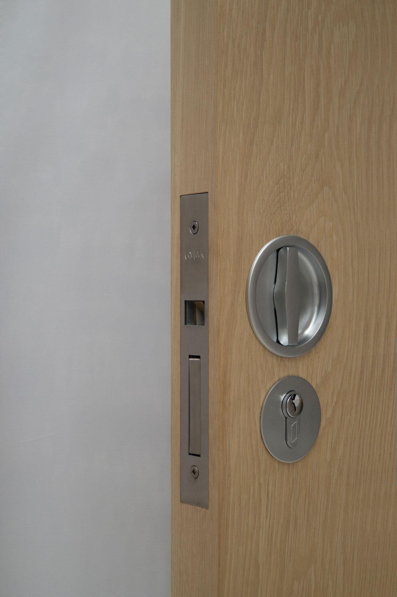 Cl100 Flushturn Pocket Door Hardware