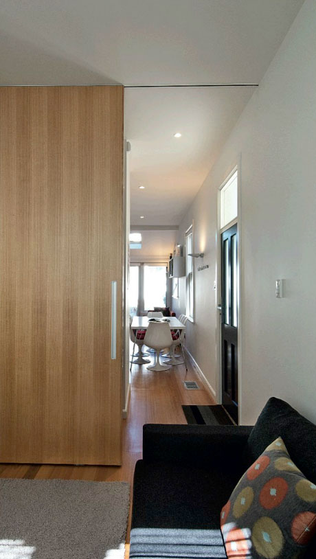 Sliding Door Handles >> Full height ceiling mounted track system