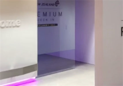 Automated Glass Pocket Door