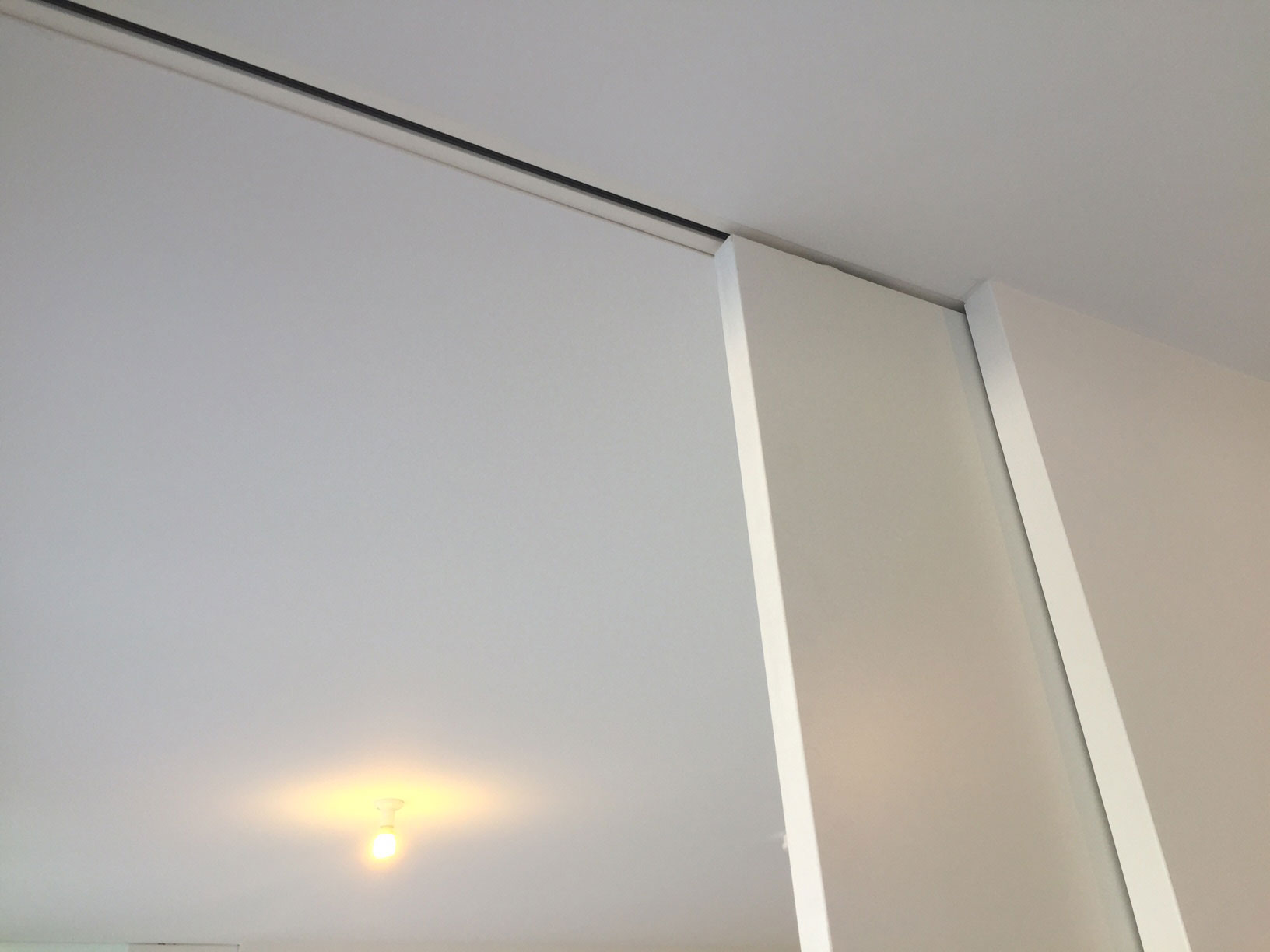 Full Height Ceiling Mounted Track System