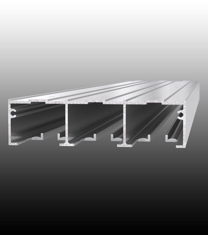 Top Mount Double Or Triple Pocket Door Track