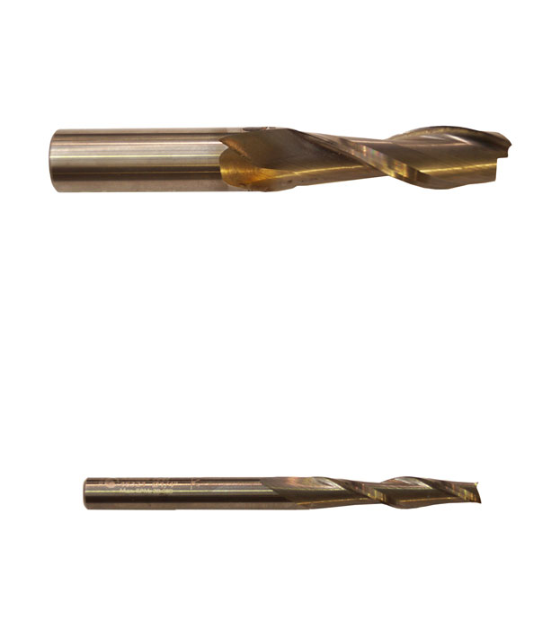 Solid carbide spiral cutters