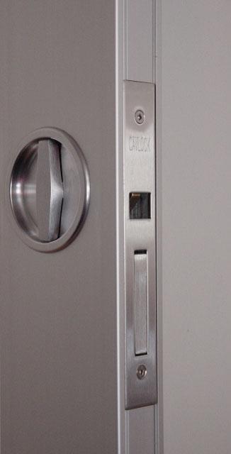 CL100 Flush Turn Passage Pocket Door Lock