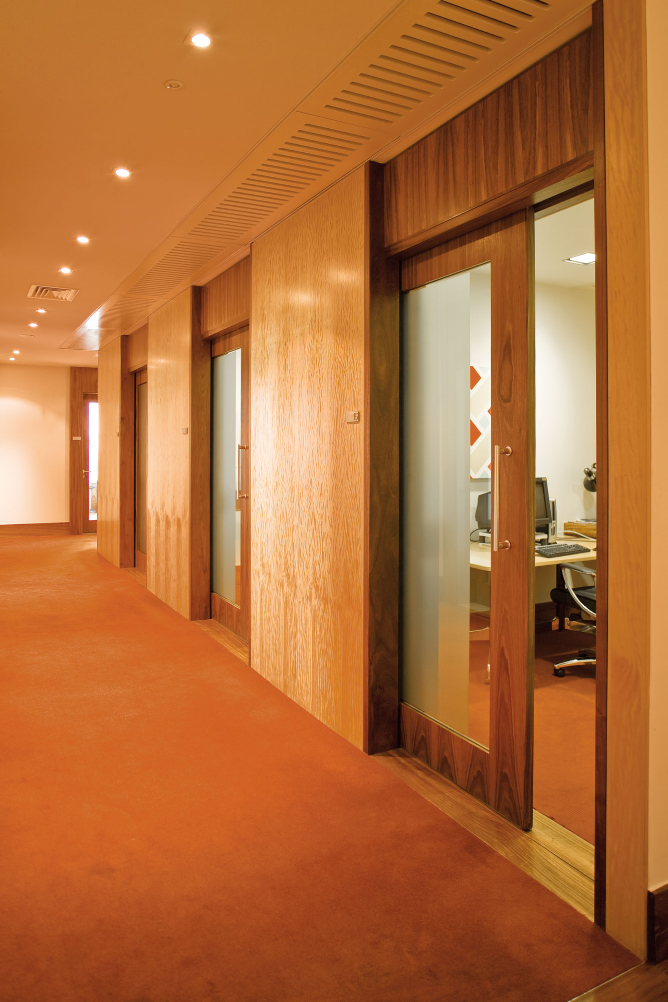 Heavy Duty Office Sliding Door Track