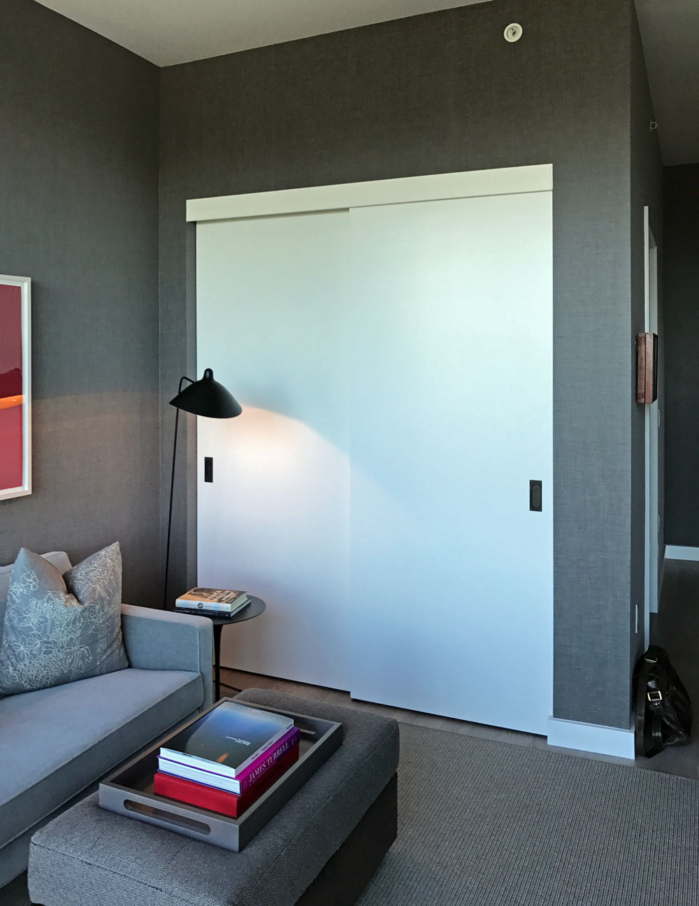 Top Mount Double By-pass Sliding Door Wardrobe Track